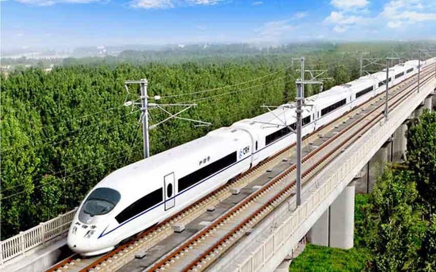 366net必赢亚洲手机版破碎机-高速铁路应用领域