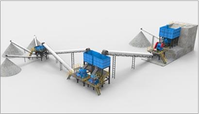 366.net亚洲必赢重工破碎机-高速公路应用领域-砂石骨料生产线工艺示意图-缩略图