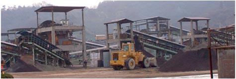 366.net亚洲必赢重工破碎机-钢渣回收应用领域-生产线实拍图
