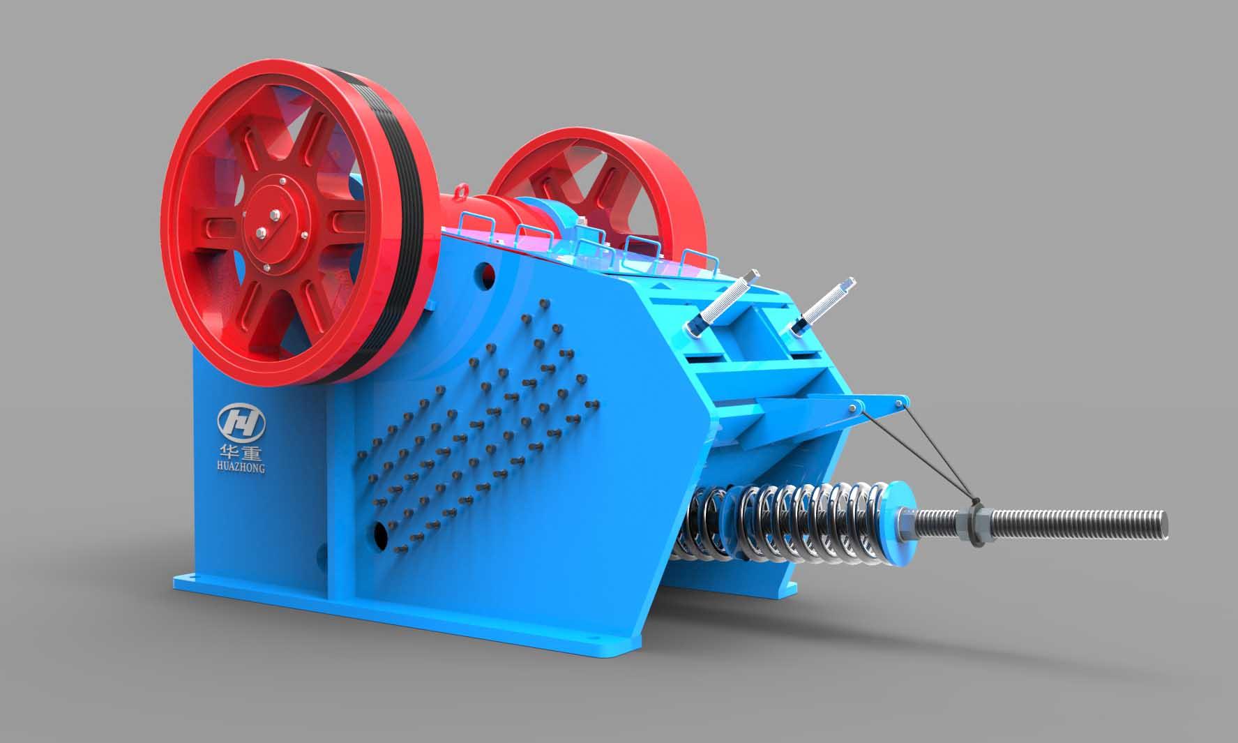 PEY系列液压保护颚式破碎机-大华重工