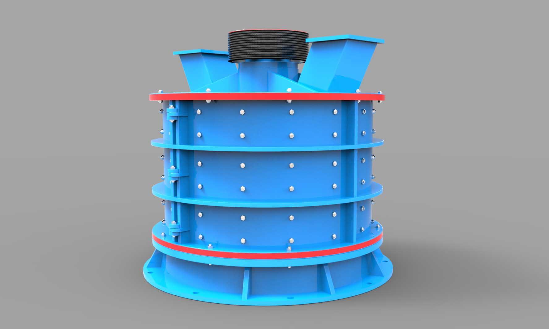 PFL系列立式复合破碎机|立式复合破碎机产品特点,参数01-大华重工