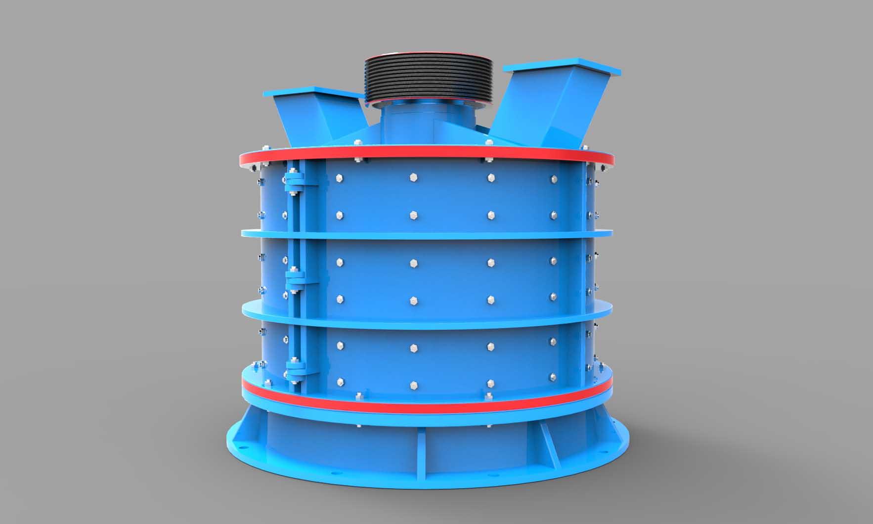 PFL系列立式复合破碎机|立式复合破碎机产品特点,参数02-大华重工