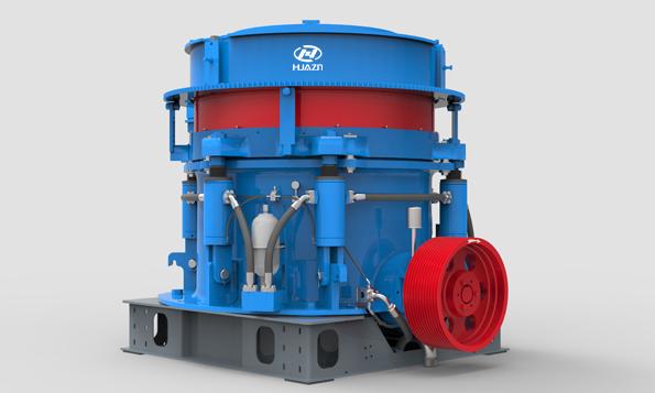 HPY系列多缸液压圆锥破碎机1-大华重工