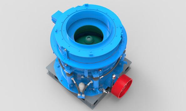 HPY系列多缸液压圆锥破碎机3-大华重工
