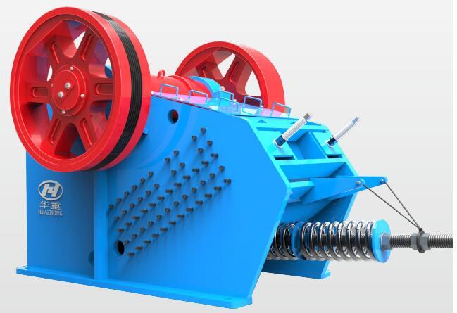 PEY系列液压保护颚式破碎机产品3D图-大华重工