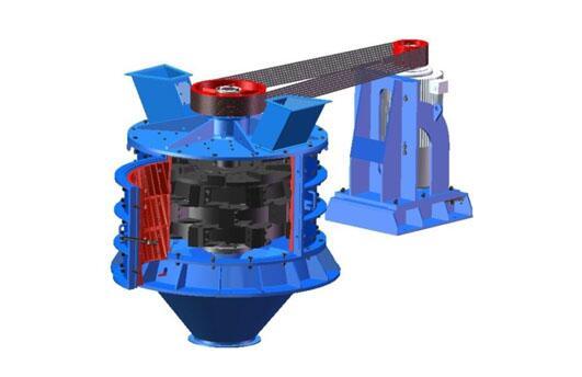 PFL系列立式复合破碎机结构图-大华重工