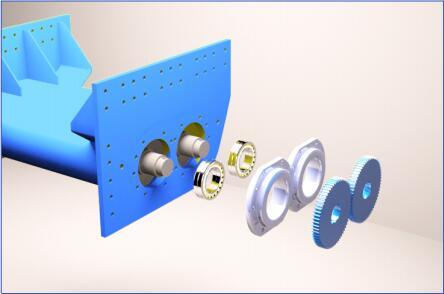 ZSW系列振动给料机结构图1-大华重工