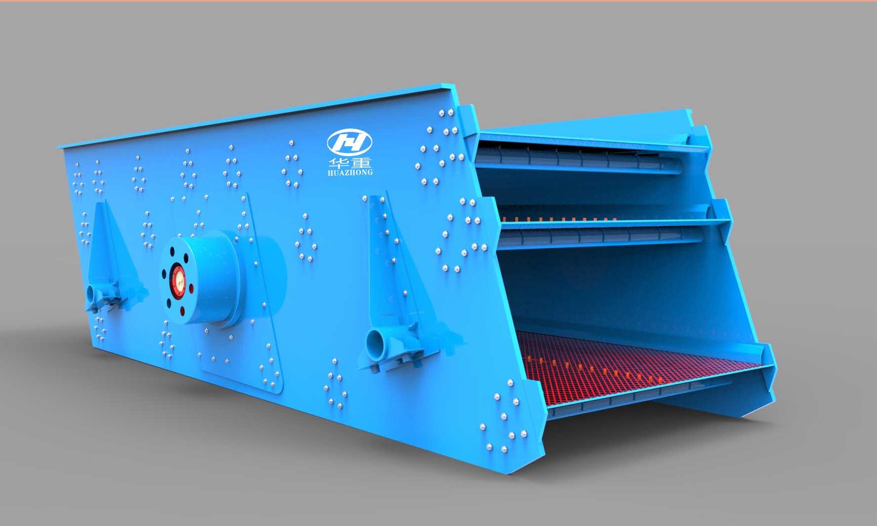 偏心块式圆振动筛产品特点|偏心块式圆振动筛参数02-大华重工