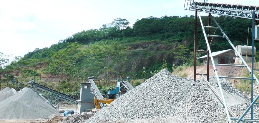 时产60-200吨石灰石/白云岩砂石骨料生产线