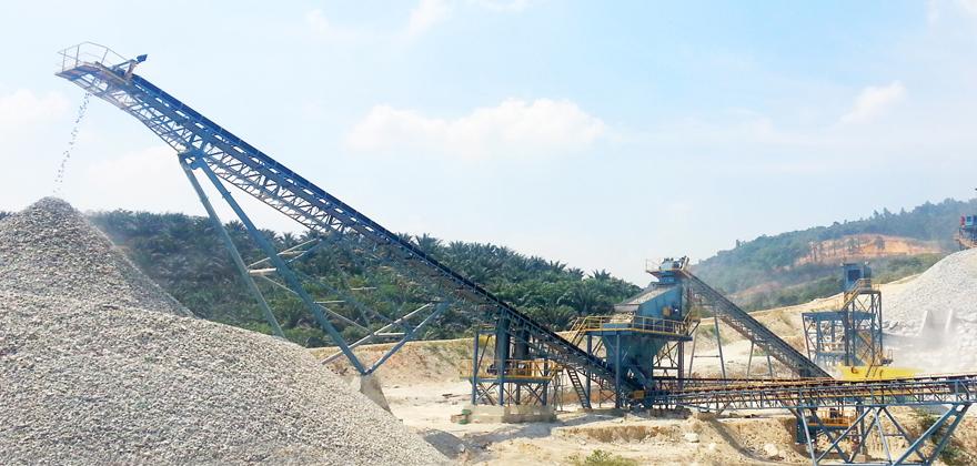 时产300-400吨石灰石/白云岩砂石骨料生产线
