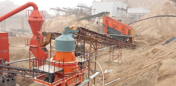 大华重工河卵石生产线广东应用案例