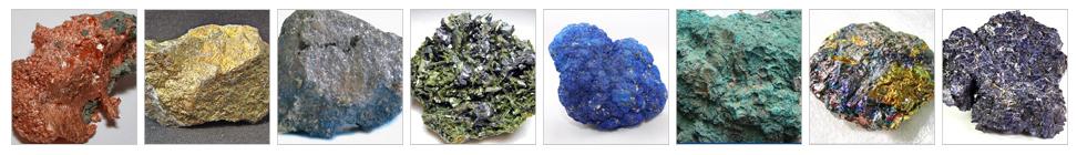 铜矿石破碎生产线 - 铜矿石特性