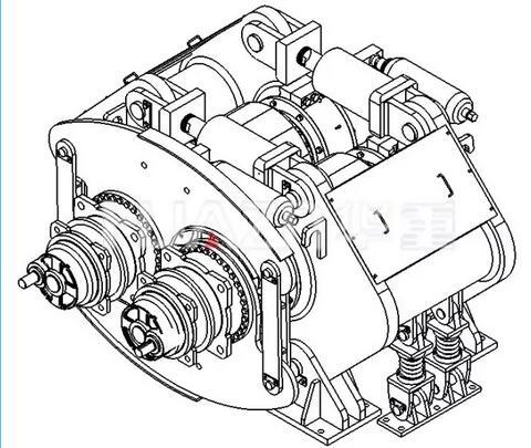 钢渣用高压辊磨机产品特点图01-大华重工