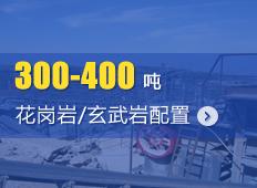 时产300-400吨花岗岩/玄武岩砂石骨料生产线