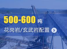 时产500-600吨花岗岩/玄武岩砂石骨料生产线