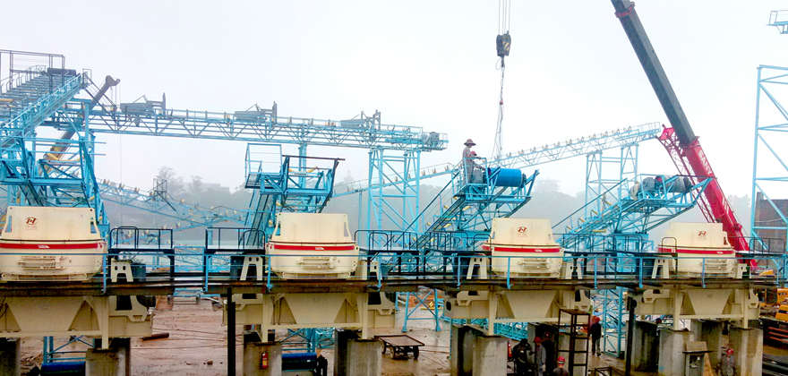 河卵石加工生产线工艺 河卵石加工设备