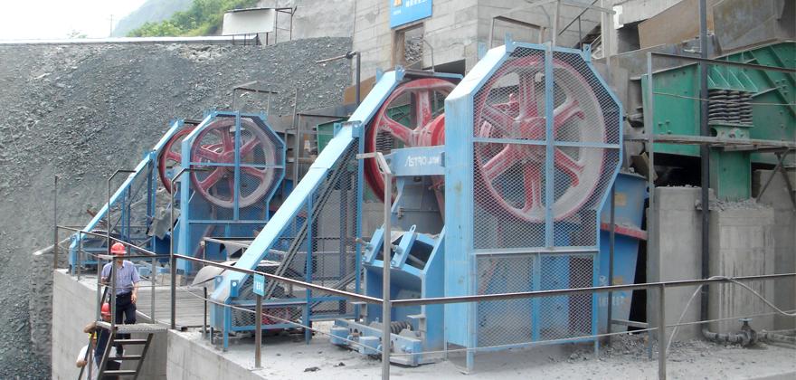 混凝土砂石骨料生产线