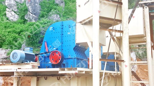 广西南宁:650t/h建筑用砂石骨料生产线