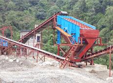 四川雅安:450t/h混凝土砂石骨料生产线