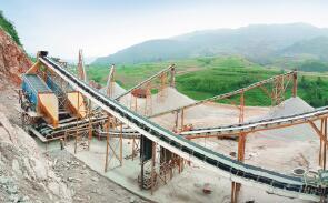 云南600T/H砂石料生产线顺利投产