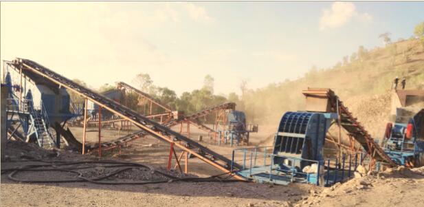 热烈祝贺我企业在东帝汶砂石料生产线顺利交付生产