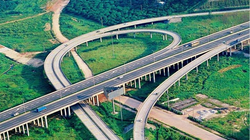 成套破碎筛分设备在高速公路建设的应用