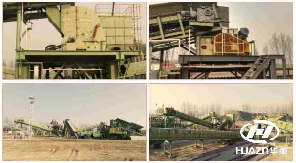 建筑垃圾生产线,钢渣生产线, 河卵石生产线|大华重工新年伊始三大生产线
