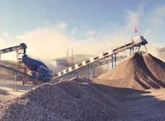 新疆某大坝砂石料生产线