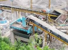贵州角木塘水电站450t/h砂石骨料系统