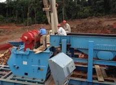 喀麦隆隆潘卡尔电站200吨/小时大坝用砂石骨料加工系统
