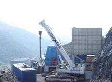 法国马赛1000吨/小时破碎粗碎加工系统