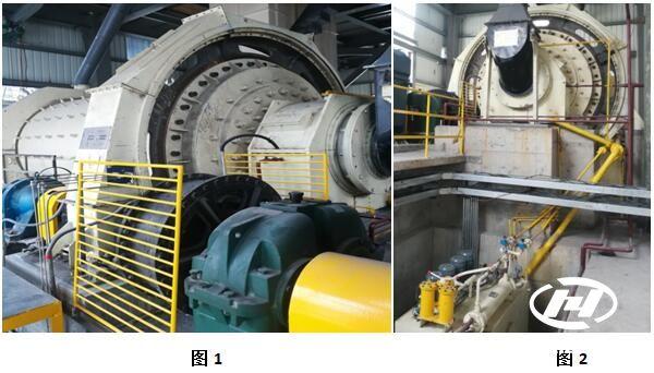 大华重工为山西某钢厂棒磨机处理石灰石现场报告