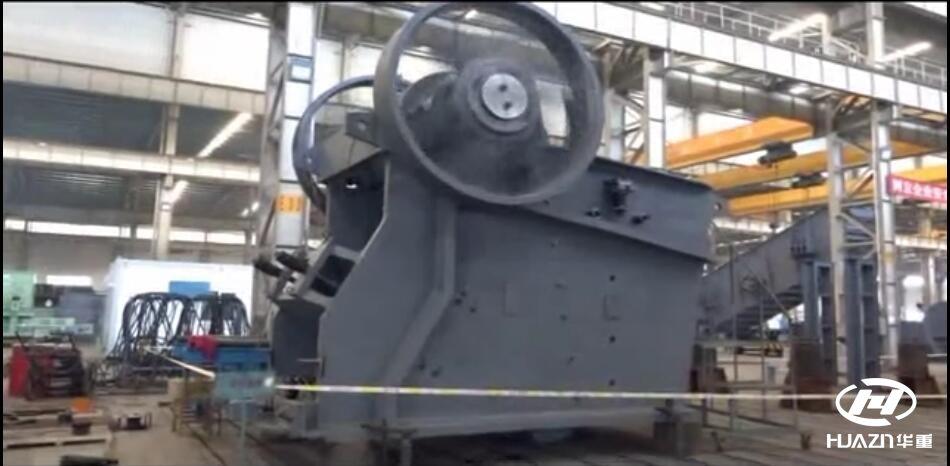 直击现场|走出国门 大型颚式破碎机ASJE4836落户日本