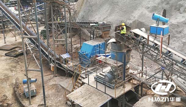 366.net亚洲必赢重工破碎机用在福建水电站大坝