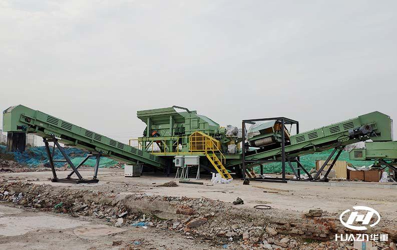 366.net亚洲必赢重工积极参与建筑垃圾破碎机在资源在利用