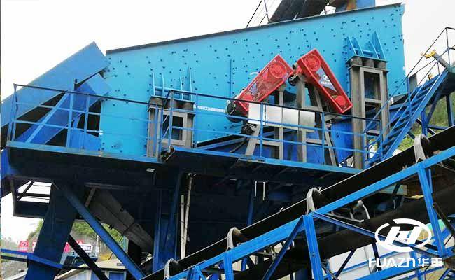颚式破碎机、圆锥破碎机和立式破碎机组成花岗岩生产线