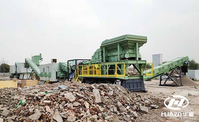 建筑垃圾模块化生产带动的建筑垃圾破碎进度