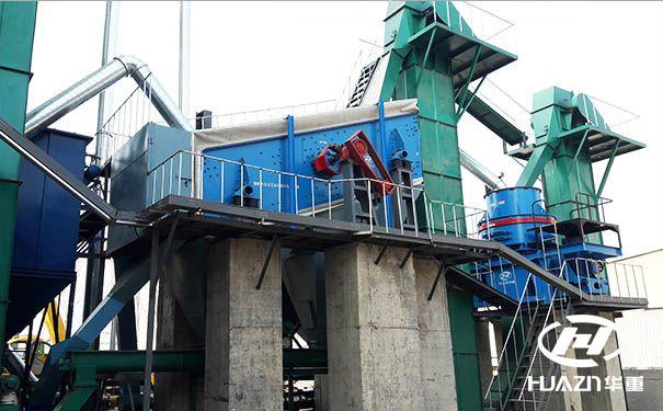 机制砂机生产设计的工艺流程设计及设备类型的选择