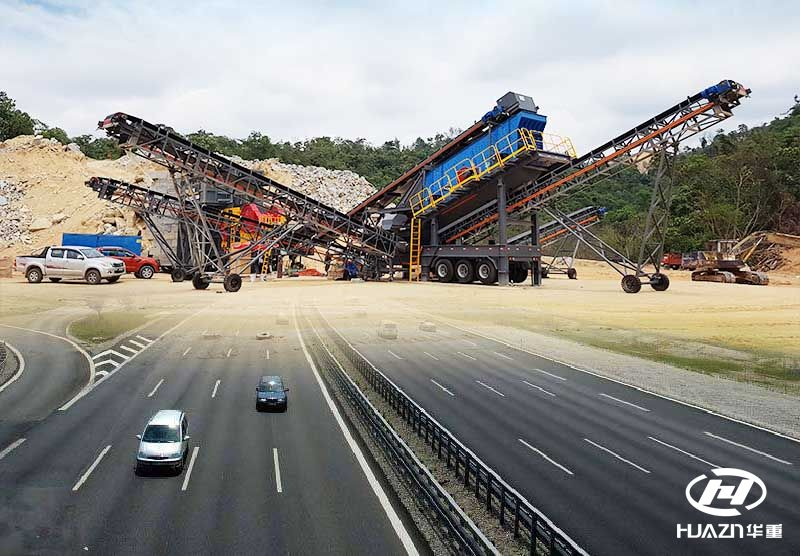 砂石破碎物料应用在高速公路的要求及工艺流程