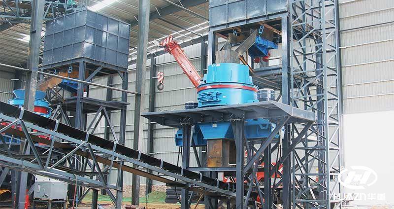 高速铁路的发展促进了制砂生产线的不断更新换代