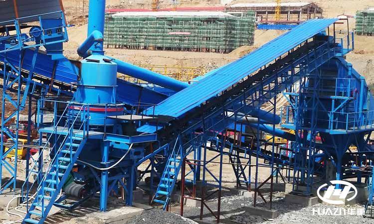 处理时产80吨的鹅卵石制砂机价格是多少?