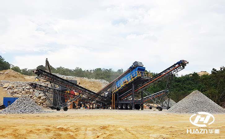 破碎鹅卵石的制砂生产线需要哪些设备及注意事项