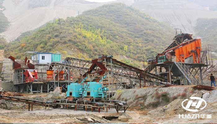 时产500吨的砂石生产线需要投入多少钱?