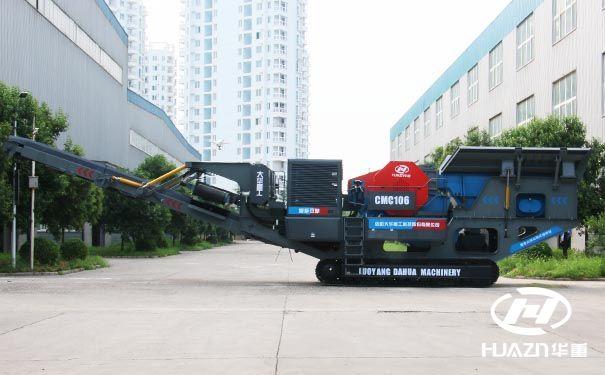 移动破碎站砂石设备生产线如何配置能尽快获利