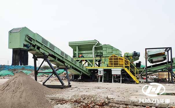 移动式制砂机用于建筑破碎和整形