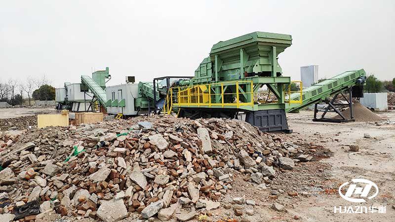 建筑垃圾的循环利用过程,实现了建筑垃圾变废为宝。