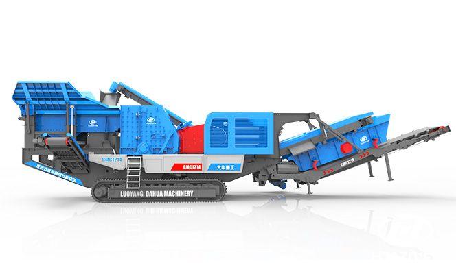 移动破碎机可完美完成破碎筛分工作