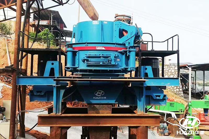 立式冲击破碎机满足对机制砂增长需求