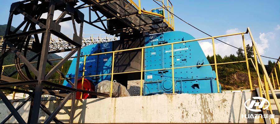 大型反击式破碎机对混凝土的破碎具有绝对的破碎能力