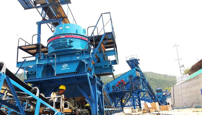 高品质砂石骨料促进制砂机的发展